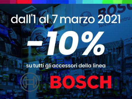 Gruppo Taboga promo meno 10 per cento su Bosch